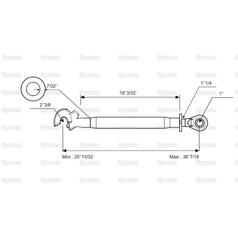 eb85d8539 S.33107 Top Link Heavy Duty (Cat.2 3) Ball and Q.R. Hook