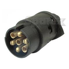 7 Pin Trailer Plug (Plastic)
