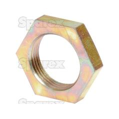 Hydraulic Metal Pipe Lock Nut, Size: M22 x 1.5 Metric Fine.