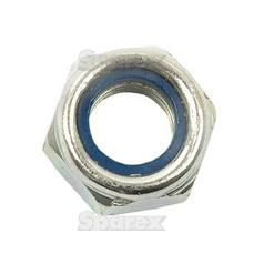 Metric Self Locking Nut, Size: M12 x 1.75mm (Din 985) Metric Coarse