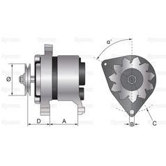 23851 Lucas Alternator Wiring Diagram. . Wiring Diagram on
