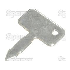 Ignition Key | for Ford NH, Landini, Leyland, MF, Nuffield, Case/IH, David Brown