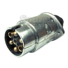 7 Pin Trailer Plug (Metal)