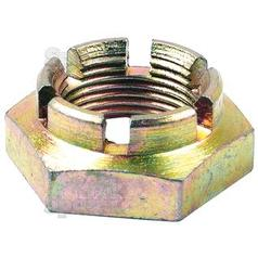 Imperial Castle Nut, Size: 1 1/4'' UNF (Din 935) Tensile strength: 8.8