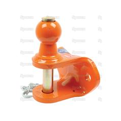 Heavy Duty 50mm Ball Hitch | Max Static Load 1.5 Ton (Ball) and 4 Ton (Pin)