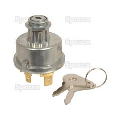 Ignition Switch | Case/IH, David Brown, Leyland, Massey, Valmet/Valtra, Perkins