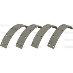 Brake Lining Kit | Ford NH Massey Volvo Landini 81717321 1810517M92 MG1851062