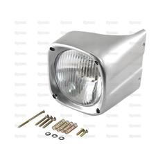 Halogen Head Light and Cowl Kit, LH (RH Dip Dip)