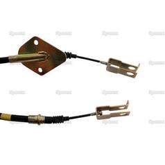 Clutch Cable - Length: 691mm, Outer cable length: 380mm.