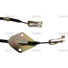 Clutch Cable - Length: 897mm, Outer cable length: 592mm.