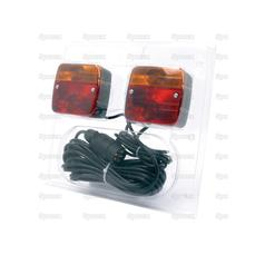 Halogen Lighting Set, Cable length: 12M, Max. extension: 4M