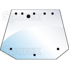 Rear Upper Glass | Case/IH, Fiat, Ford New Holland (5178304 , 82005316)