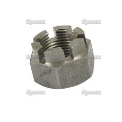 Metric Castle Nut, Size: M20 x 2.5mm (Din 935) Metric Fine