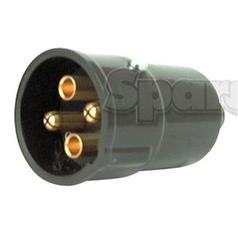 4-Pin Auxiliary Male Socket (Plastic)