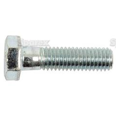 Metric Bolt, Size: M8 x 30mm (Din 931) Tensile strength: 8.8.