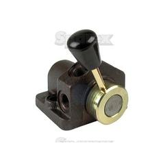 Hydraulic 1-Port Isolator valve suitable for MF.