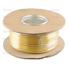 Single Core Electrical Cable-1.5mm² x 50M Yellow