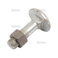 Cup Head Bolt & Nut- 3/4'' UNC