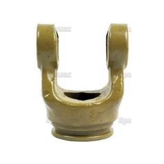 PTO Tube Yoke (U/J Size: 27 x 70mm) Profile: Lemon, Size: 34.5 x 4mm, Ref: Ov.