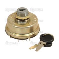 Ignition Switch for Fiat, Universal, Long Tractor | (05118433, 4158641, TX10953)