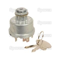 Ignition Switch for Ford New Holland, LUCAS | 81838692, 128SA,  81871583, 30811