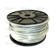 Wire Rope With Nylon Core 6mm Ø x 50m
