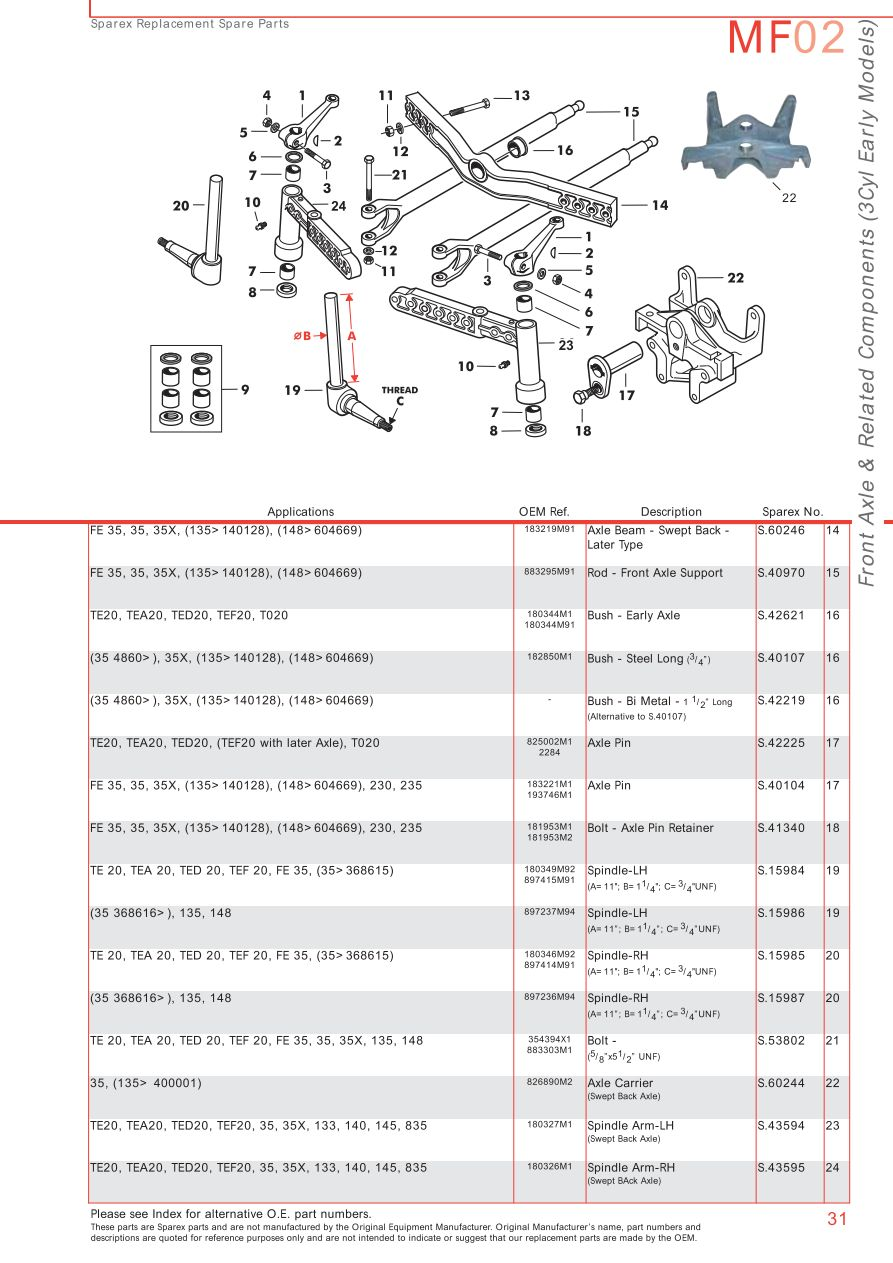 203 Ford Front Differential Diagram Just Another Wiring Blog Jeep Massey Ferguson Axle Page 41 Sparex Parts Lists Diagrams Rh Malpasonline Co Uk 2004 F250