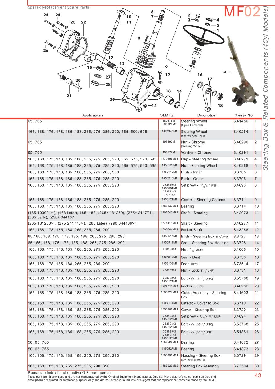 Massey Ferguson Front Axle  Page 53