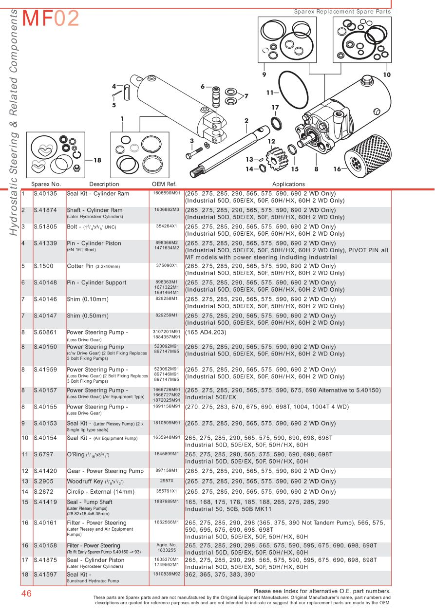 Mf on Massey Ferguson 255 Parts Diagrams