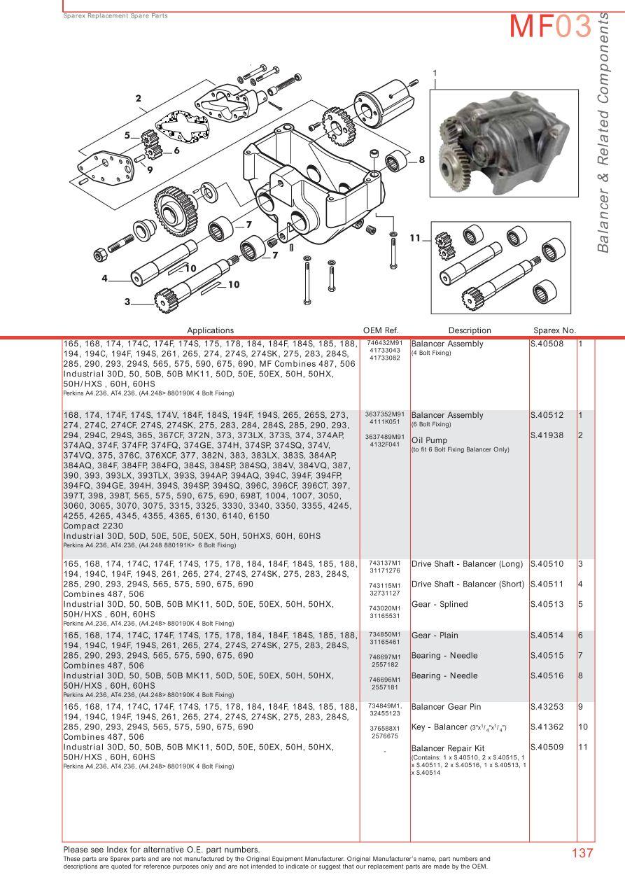 massey ferguson engine page 147 sparex parts lists diagrams rh malpasonline co uk massey ferguson 65 engine diagram massey ferguson 135 engine diagram