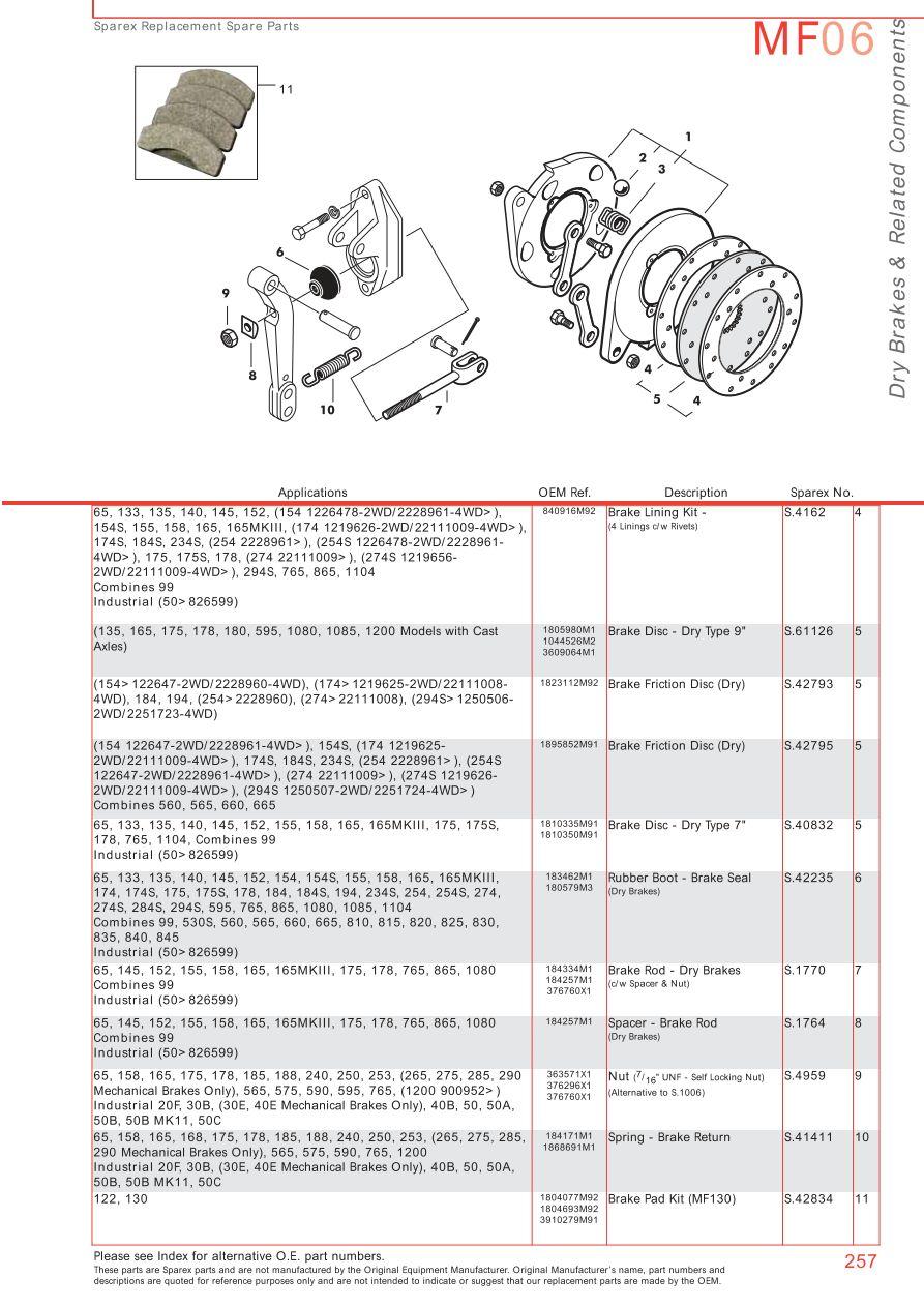 Mf on 165 Massey Ferguson Wiring Diagram