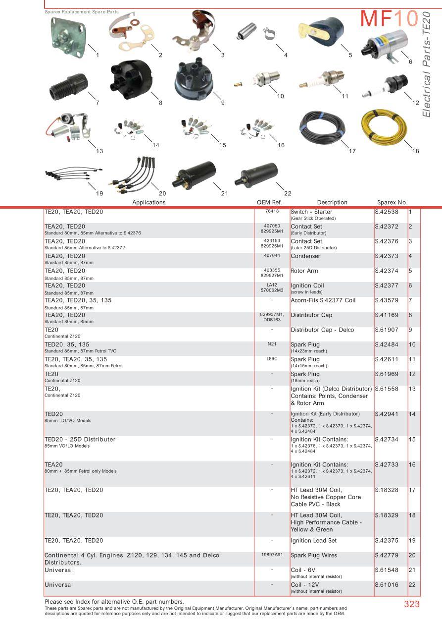 Massey Ferguson Electrics  U0026 Instruments  Page 333