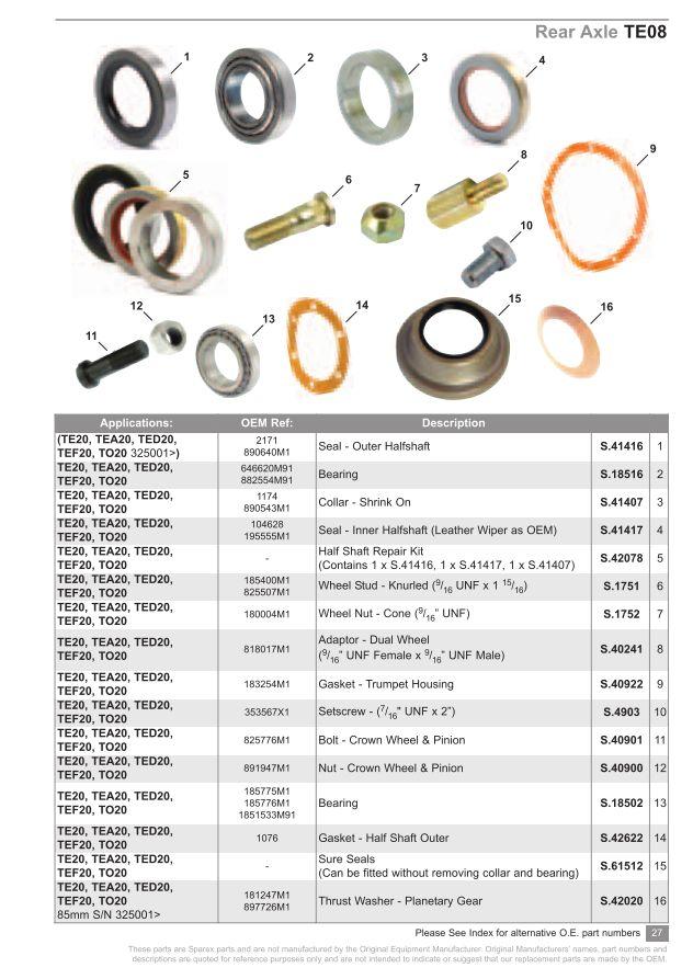 S.73931 TE20 Catalogue - TE08-27