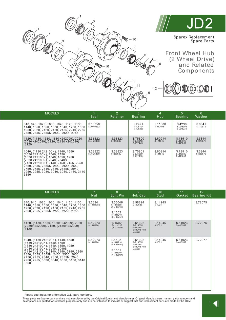John Deere Front Axle Steering Related Ponents Page 17. S70296 John Deere Jd021. John Deere. 2940 John Deere Pto Diagram At Scoala.co