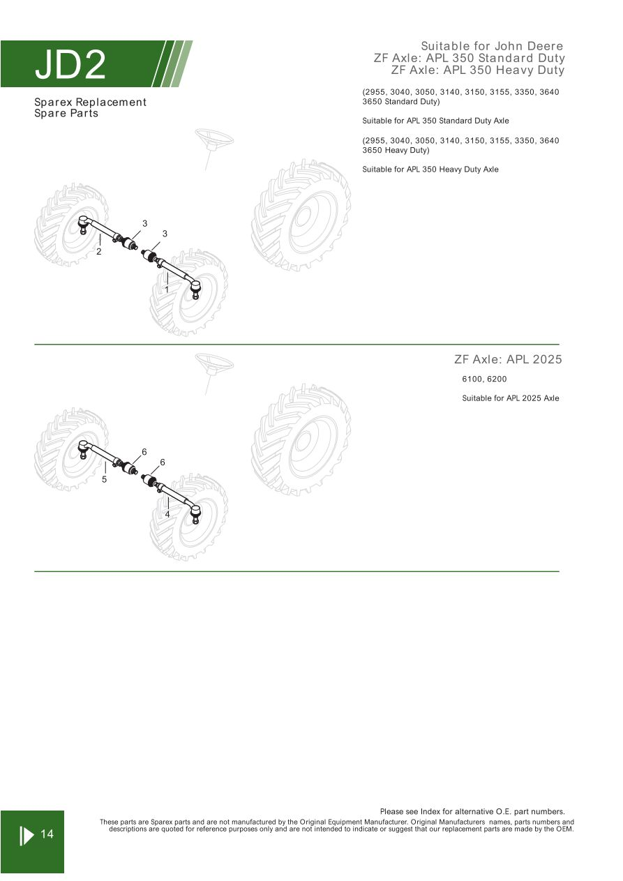 John Deere Front Axle  Steering  U0026 Related Components  Page 30