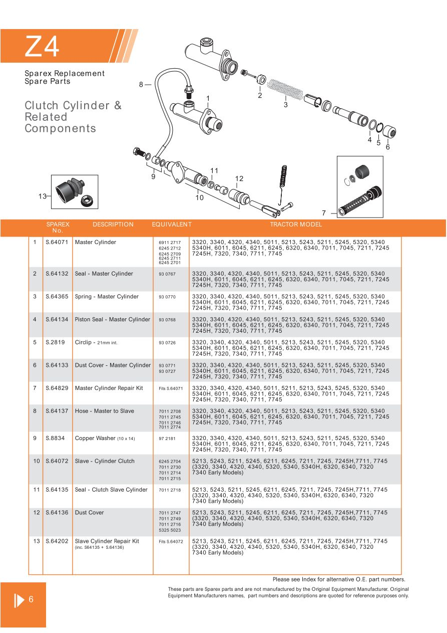 4340 Zetor Tractor Wiring Diagram List Of Schematic Circuit Linhai 400cc Atv Clutch Page 58 Sparex Parts Lists Diagrams Malpasonline Co Uk Rh