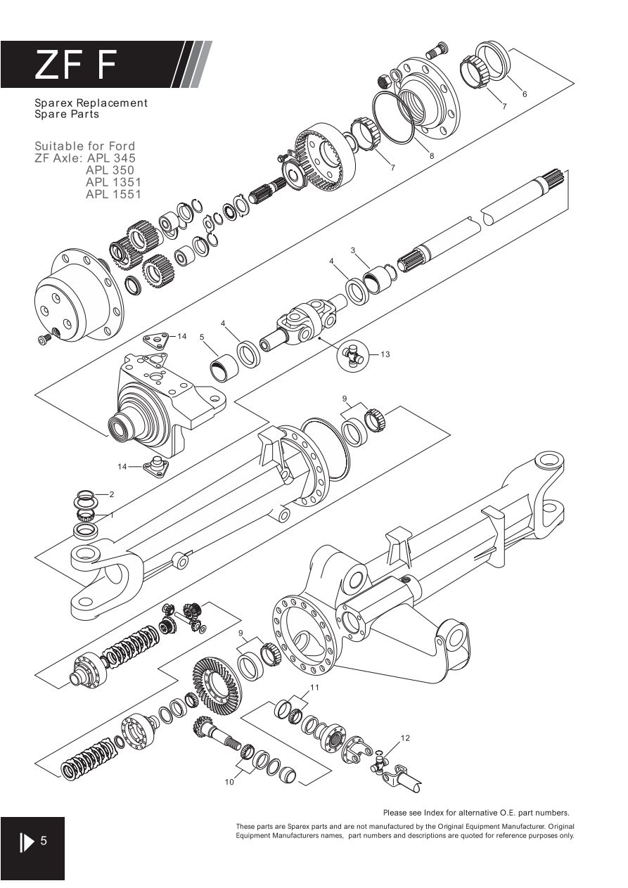 S.70303 4WD - FW01-5