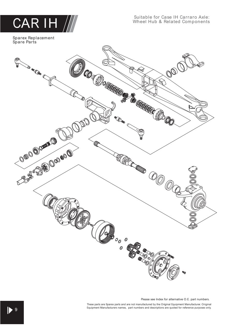 Zf Axle Parts Catalog