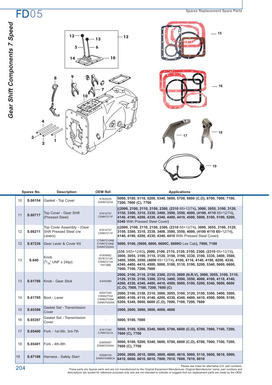 Ford 6700 Tractor Pto Diagram Great Installation Of Wiring 8n Transmission P T O Page 210 Sparex Parts Lists Diagrams Rh Malpasonline Co Uk 2000 8000