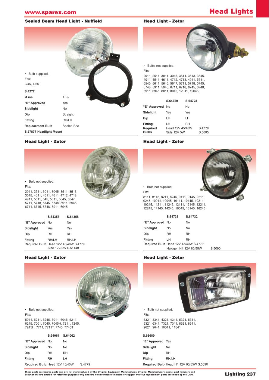 Accessories 2014 Lighting  Page 239