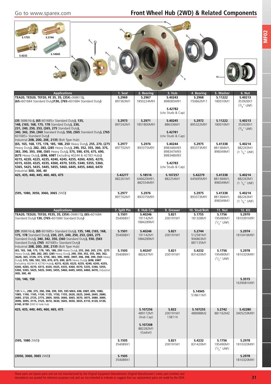 Mf on Massey Ferguson Parts Diagrams