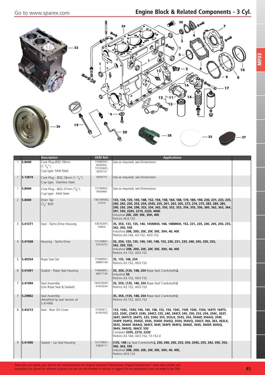 Fiat Start Wiring Diagram Will Be A Thing Massey Ferguson 2013 Engine Page 89 Sparex Parts Lists 124 Spider Body