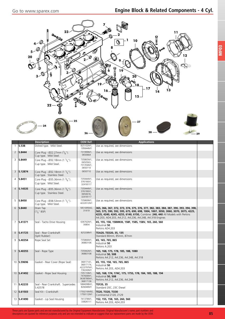 Massey Ferguson 2013 Engine  Page 91