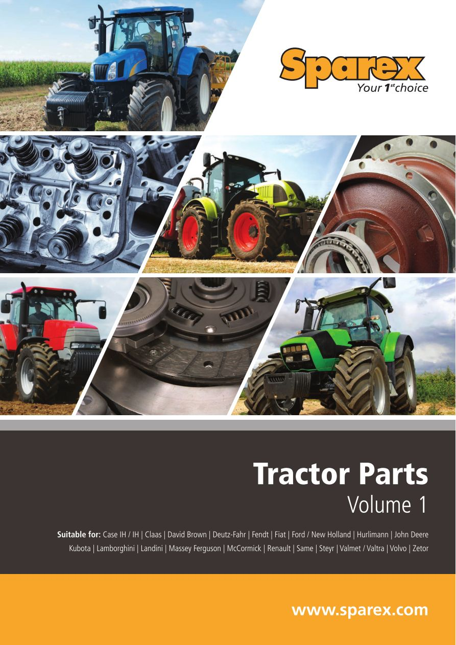 S.700267 Tractor Parts Volume 1 - F1