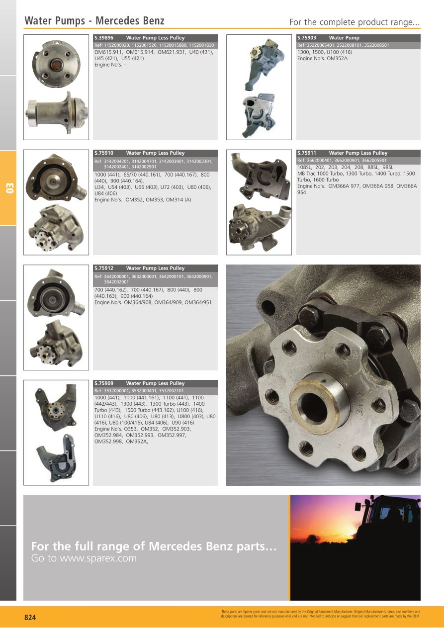 S.700267 Tractor Parts Volume 1   TP03 824