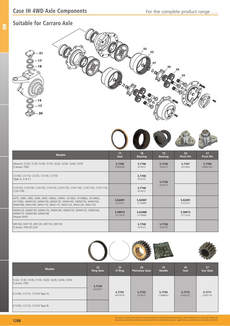 S.700268 Tractor Parts Volume 2 - TP09-1288