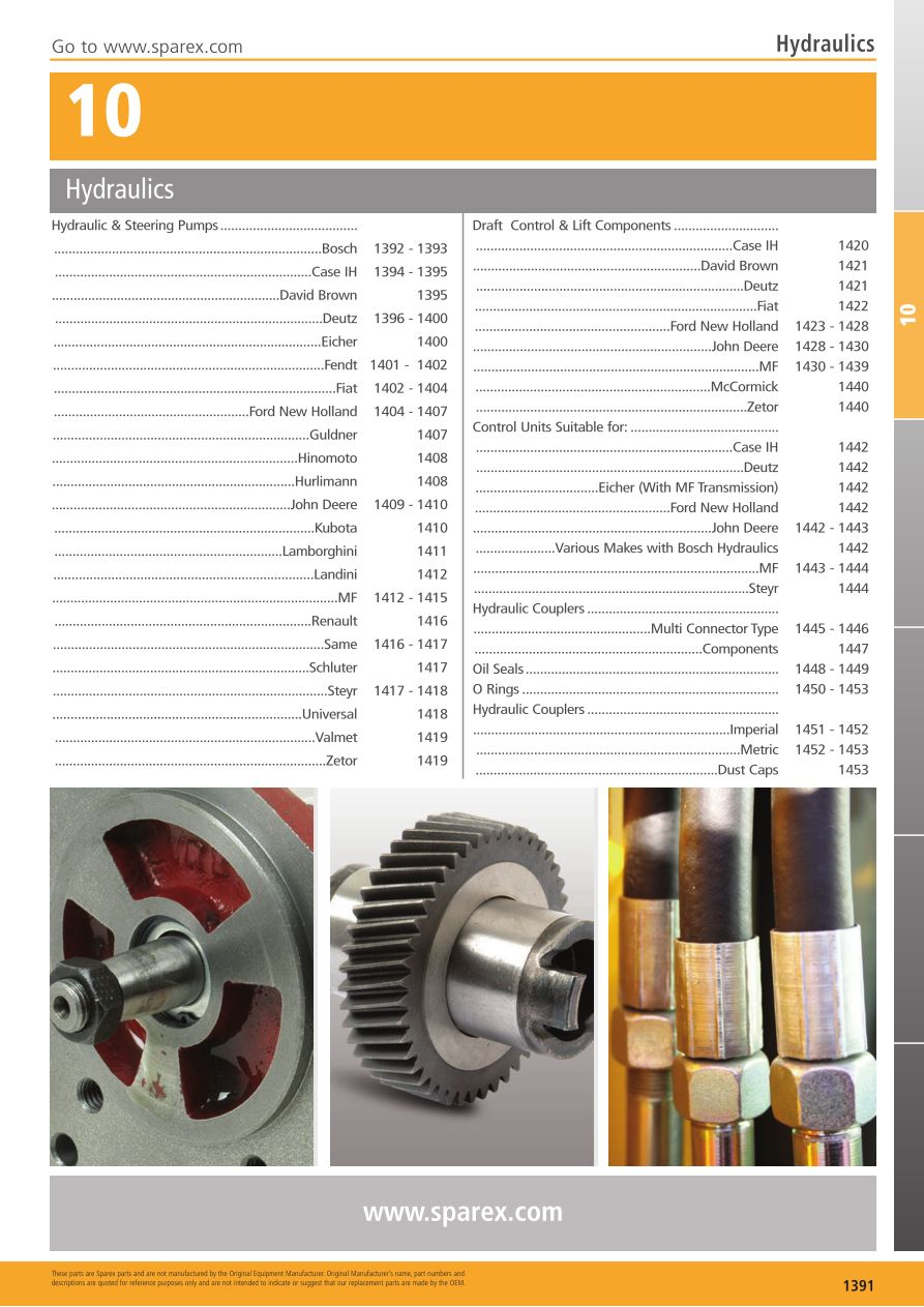 S.700268 Tractor Parts Volume 2 - TP10-1391