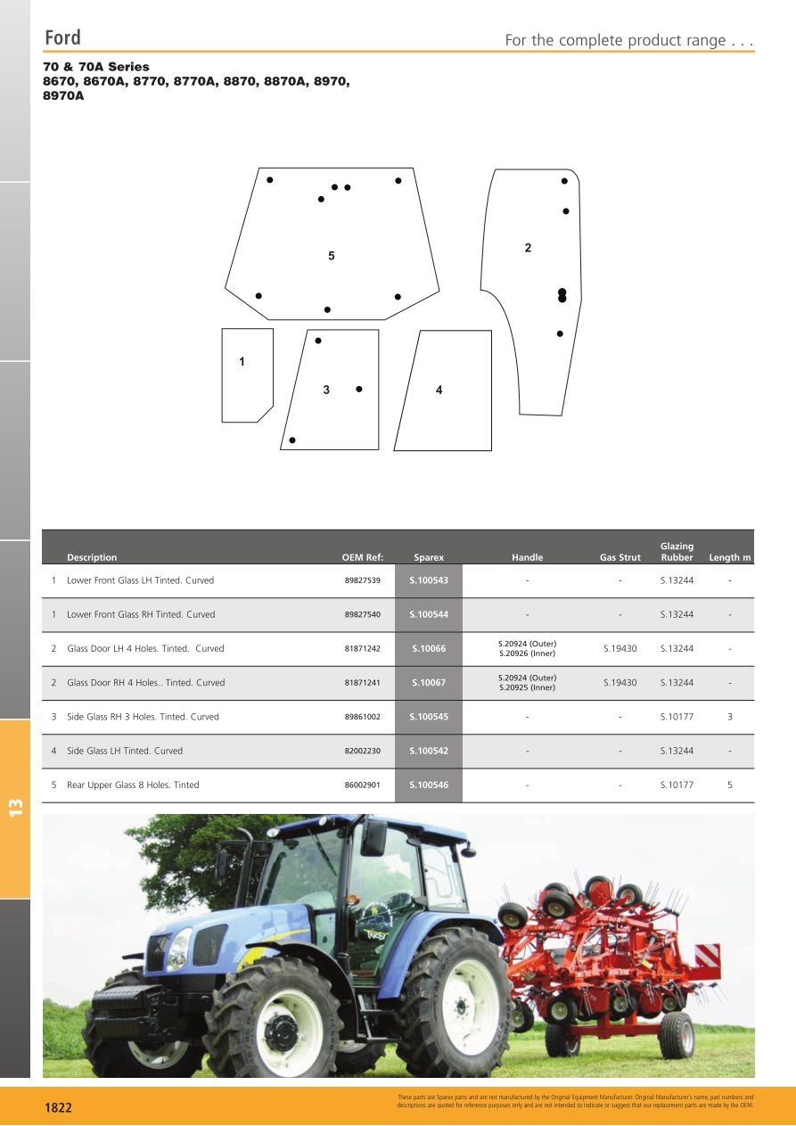 S.700268 Tractor Parts Volume 2 - TP13-1822