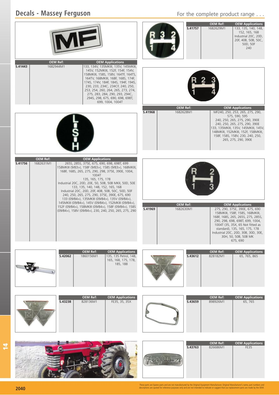 Tractor Parts Volume 2 Panels, Decals and Paint (Page 898