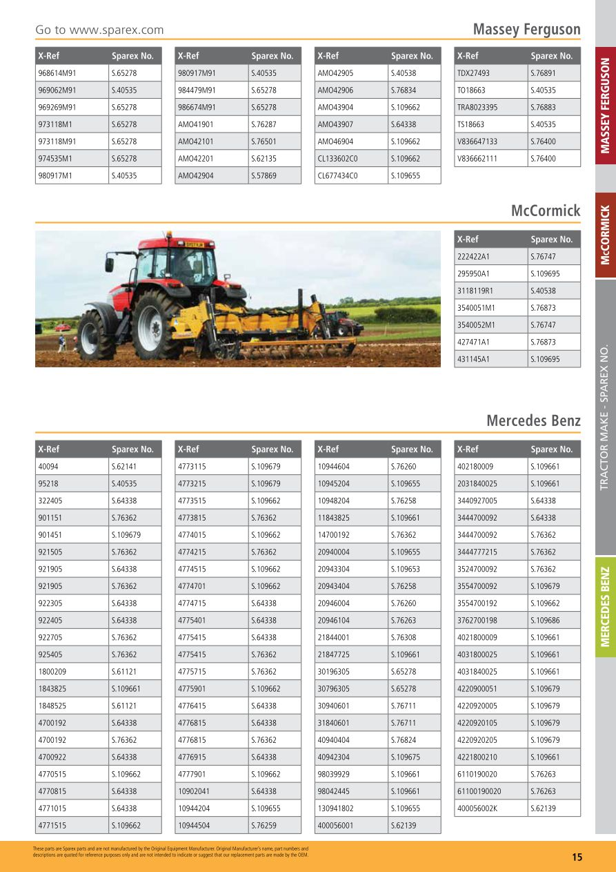 Agrifilter Introduction and Cross Reference Guide Agrifilter Cross